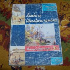 Limba si literatura romana, clasa aX-a, manual - Manual scolar art, Art