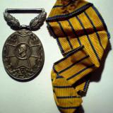 Medalii Romania - 5.227 ROMANIA CAROL I MEDALIA RASPLATA SERVICIULUI MILITAR XX 20 CARNIOL
