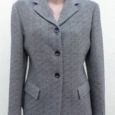 Sacou din stofa de lana Max Mara 100% original - Sacou dama Max Mara, Marime: M, Culoare: Din imagine