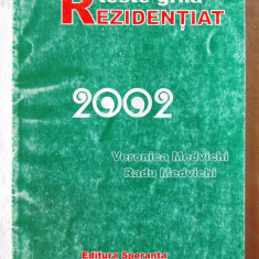"""TESTE GRILA - REZIDENTIAT 2002"", Veronica si Radu Medvichi, 2002. Carte noua"