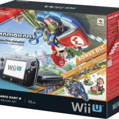 Jocuri WII - Nintendo - Wii U 32GB Console Deluxe Set with Mario Kart 8/NOU/FACTURA/GARANTIE