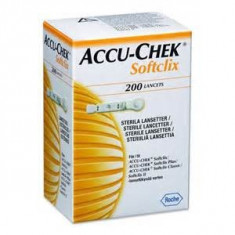 Glucometru - Ace Softclix pentru aparatele de glicemie Accu Chek