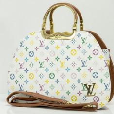 Geanta Dama Louis Vuitton, Asemanator piele - Geanta / Poseta de umar sau mana Louis Vuitton LV + Cadou Surpriza