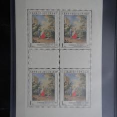 Bloc timbre Cehoslovacia-Ceskoslovensko-1967-nestampilat **