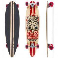 "Skateboard - Longboard Mindless Longboards Tribal Rogue II natural/red 38""/96cm"