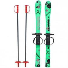 Skiuri Copii 90 Cm - Marmat - Verde