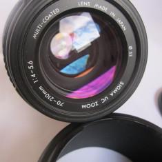 Obiectiv SIGMA 70-210 mm SAF/ FOLOSIT / PERFECT/ FOTO REALE - Obiectiv DSLR Sigma, Autofocus