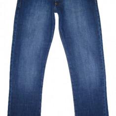 Blugi DOLCE & GABBANA - (MARIME: 32 x 34) - Talie = 81 CM / Lungime = 110 CM - Blugi barbati Dolce & Gabbana, Culoare: Albastru, Prespalat, Drepti, Normal