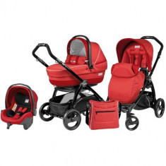 Carucior 3 in 1 Book Plus Black Completo SL Sunset - Carucior copii 2 in 1 Peg Perego