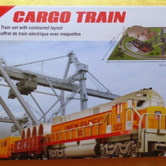Trenulet de jucarie - Start set tren CARGO cu diorama - MEHANO T113