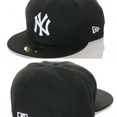 Sapca Barbati - Sapca New Era Fitted NY Yankees mas.7.1/8 = 56.8 cm (sapca full cap, sapca plina)