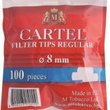 Foite tigari - Filtre CARTEL REGULAR pentru rulat tutun, tigari