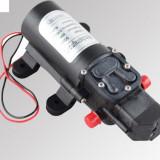 Gradinarit - Pompa 24V 60W cu presostat de inalta presiune (rulota, barca, dozator, etc.)