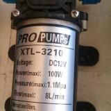 Gradinarit - Pompa 12V 100W de inalta presiune (rulota, barca, dozator, etc.)