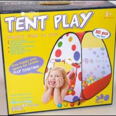 Jucarii - Cort de joaca pentru copii cu 50 de bile de jucarie incluse