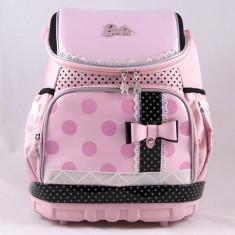 Ghiozdan Barbie ergonomic roz cu licenta