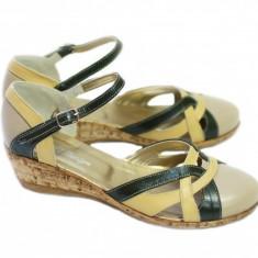 Sandale dama din piele naturala - Made in Romania