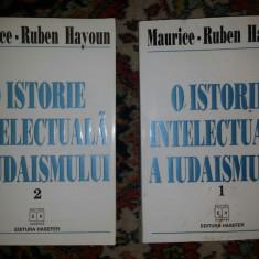 O istorie intelectuala a iudaismului / Maurice-Ruben Hayoun 2 volume - Carti Iudaism