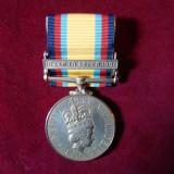 THE GULF MEDAL 1990-91 . Medalie originala, atribuita nominal .