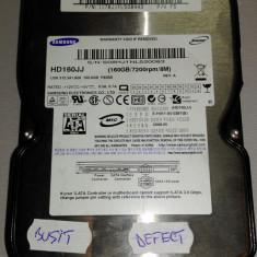 Hard Disk defect SAMSUNG HD160JJ E-H011-05-0397(B), 40-99 GB, Rotatii: 7200, SATA, 8 MB