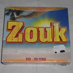 Vand cd sigilat ZOUK-Multitubes - Muzica Dance wagram