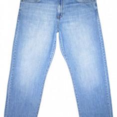 Blugi barbati Calvin Klein, Lungi, Prespalat, Drepti, Normal - (BATAL) CALVIN KLEIN - (MARIME: 38) - Talie = 104 CM / Lungime = 108 CM
