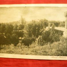 Ilustrata Craiova - Parcul Bibescu, circulat 1931 - Carte Postala Oltenia dupa 1918, Circulata, Printata