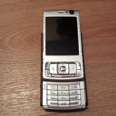 Telefon Nokia, Maro, Nu se aplica, Neblocat, Fara procesor, Nu se aplica - Nokia N95 - 129 lei