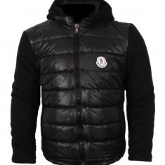 Geaca barbati - Geaca iarna MONCLER-negru-Marime:L -pt 70-75 kg