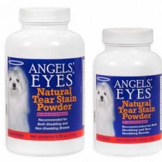 Caine - Angels'Eyes 75gr pui pt eliminare pete lacrimi caini si pisici cu blana alba bichon maltese, bolognese frise, westie, shih tzu
