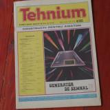 Revista Tehnium - anul XV -  ( nr 173 ) - nr 4 din 1985 !!!