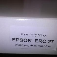 Ribbon Epson erc-27 purple compatibil - Riboane imprimanta