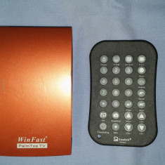 TV-Tuner PC Winfast, USB, Extern (necesita PC) - Tuner TV extern cu telecomanda Leadtek Winfast Palmtop TV