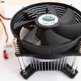 Cooler 775 cu suruburi si backplate Ventilator de 95 mm Cooler Master DI5-9HDSL-0L-GP Intel LGA 775 3 PINI - Cooler PC Cooler Master, Pentru procesoare