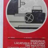 Carti Mecanica - Manualul Lacatusului Mecanic Din Industria De Constructii De - Gh Tanase V Nicolescu I Birla, 523035