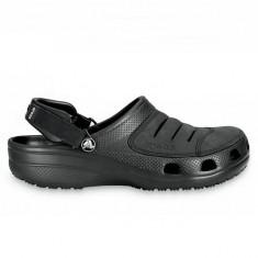 Yukon black (Crc10931-060B) - Papuci barbati Crocs, Marime: 40.5, Culoare: Negru