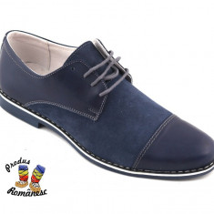 Pantofi barbati adio, Piele naturala - Pantofi PIELE NATURALA barbati