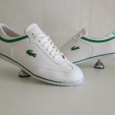 Adidasi barbati - Adidasi lacoste casual alb