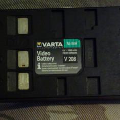Baterie camera varta video battery v 208 6V 1800 mAh Panasonic, JVC Sharp Fuji - Baterie Camera Video Altele