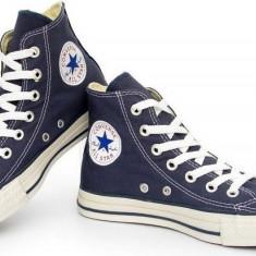 Bascheti Converse albastri unisex - Tenisi barbati, Marime: 36, 37, 38, 39, 40, 41, 42, 43, 44, Culoare: Albastru, Textil