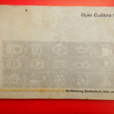 OPEL CALIBRA Manual de utilizare - Carti auto