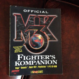 STRATEGY GUIDE - FIGHTERS KOMPANION - MORTAL KOMBAT 3