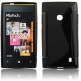 Husa Nokia Lumia 520 525 TPU S-LINE Black