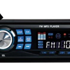 CD Player MP3 auto - MP3 PLAYER AUTO 4x50 W CU SLOT CARD SD SI USB CU TELECOMANDA