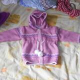Haine Copii 1 - 3 ani, Jachete, Fete - Jacheta mov, in stare foarte buna, pentru fetite 2-3 ani