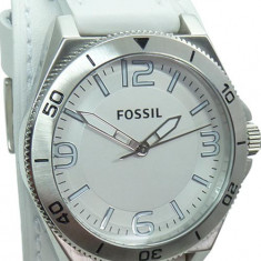 Ceas Barbatesc fossil, Casual, Quartz, Inox, Piele, 100 m / 10 ATM - Ceas Fossil BQ11168 nou, cutie, garantie original