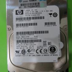 Hard Disk SAS 146gb 15k Hp model EH0146FARUB MAS5 - HDD server