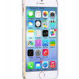 Husa BUMPER ALUMINIU premium - HOCO Fedora, iPhone 6, ultra usor, LUX, SILVER