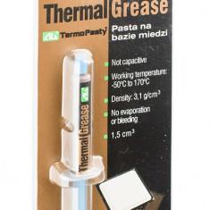 Pasta termoconductoare - Pasta procesor termoconductoare pe baza de CUPRU pentru procesoare | Termopasty | 3.5g | POLONIA
