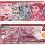 MEXIC 20 pesos 1977 UNC!!!
